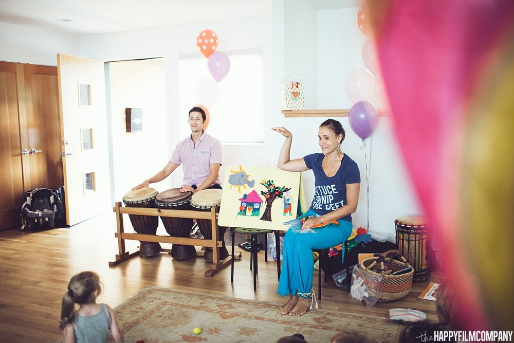 Story telling - 1st birthday - the Happy Film Company - Seattle Family Photos