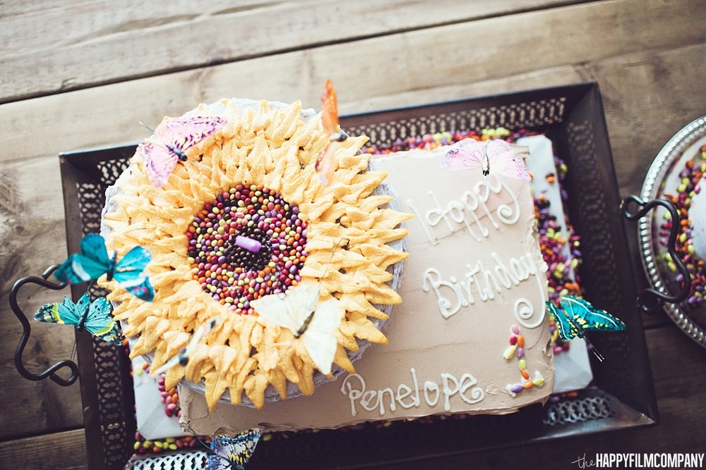1st birthday cake - the Happy Film Company - Seattle Family Photos
