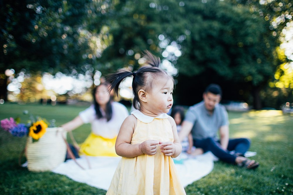 the Happy Film Company - Seattle Family Photography - Summer Picnic Volunteer Park