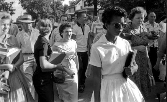 Elizabeth Eckford, Age 15, September 4, 1957, Little Rock Central High