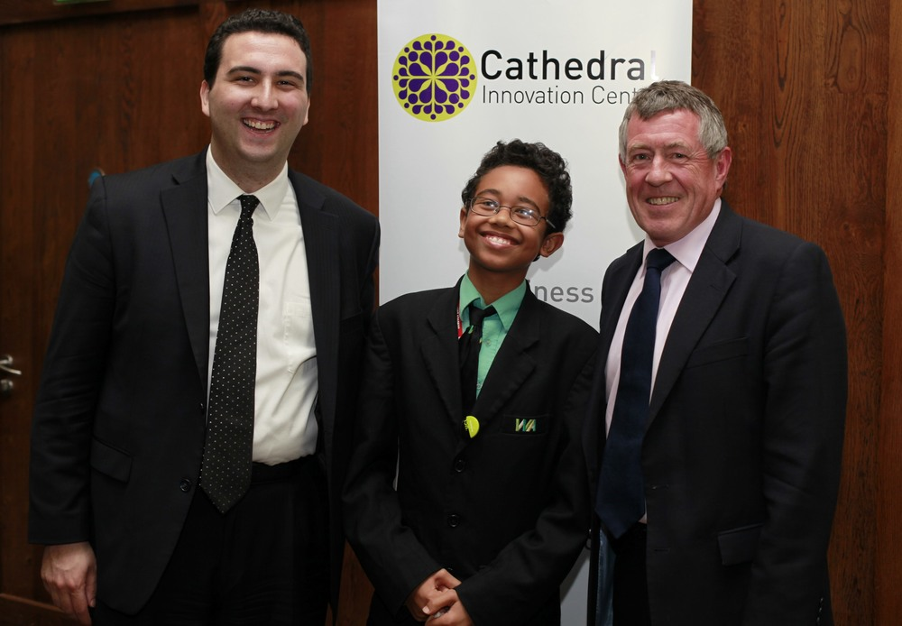 MP John Denham, one of Labour's strongest voices (right) who was my debate partner at this forum, and Dalton, from Texas, who attended the event, is adorable, and is likely a future president.