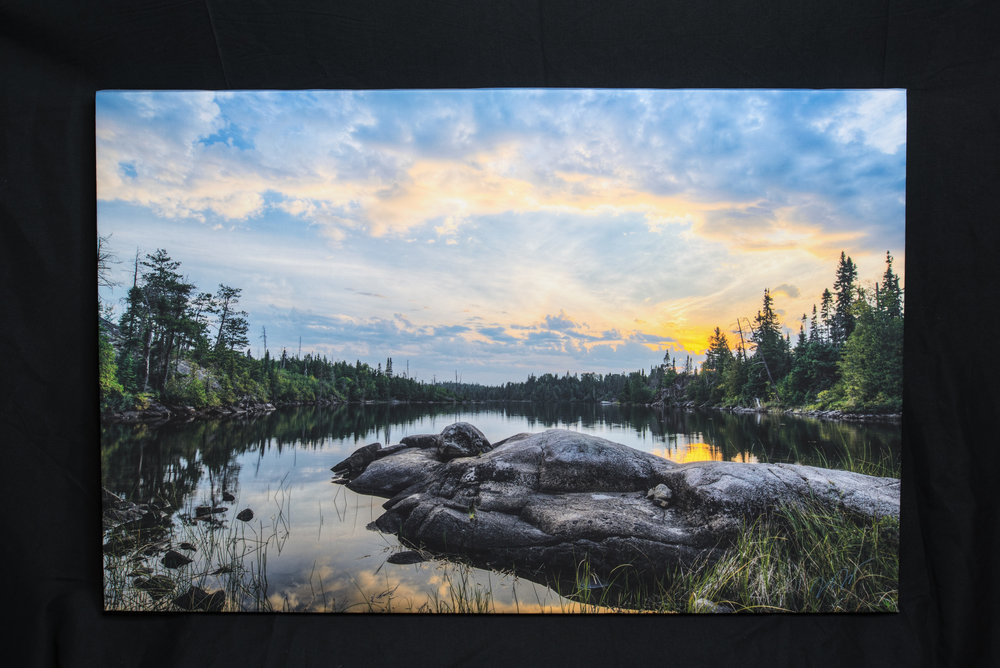 24 x 36 Inch Gallery Wrap.