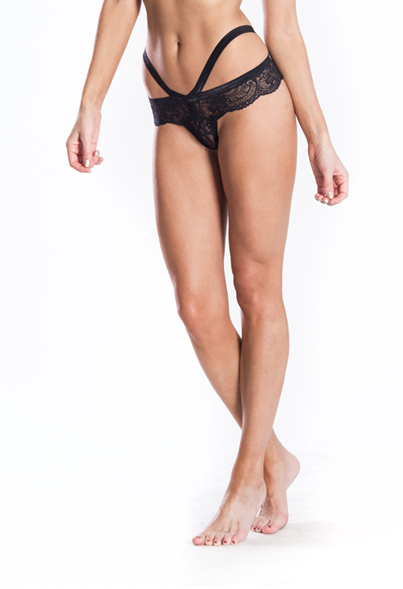 Cantiq LA   Scalloped Edge Low Rise Cheeky Panties