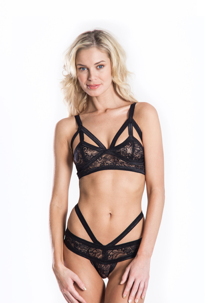 Cantiq LA   Triangle Cut Out Bralette
