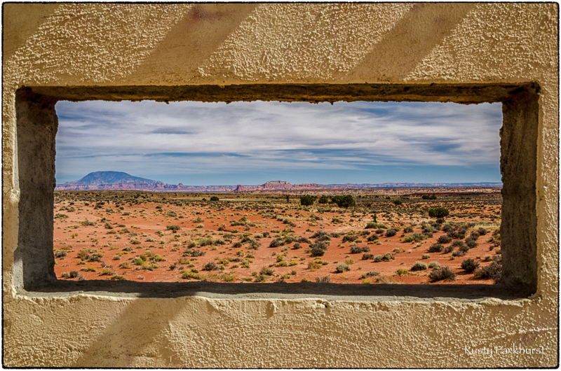 Window to the World (somewhere in Arizona)