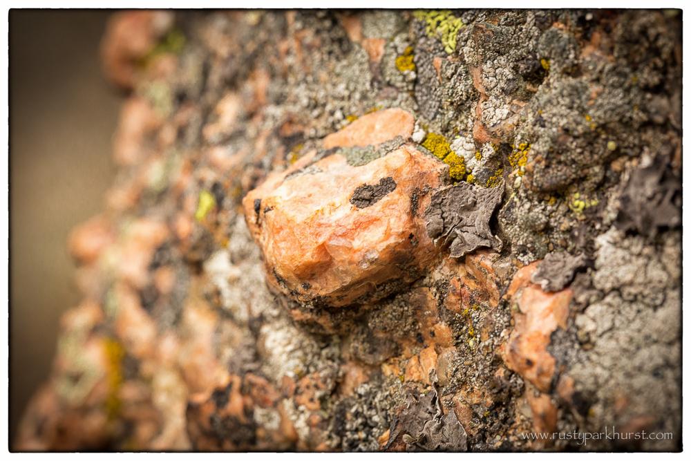 Pike's Peak Granite Closeup