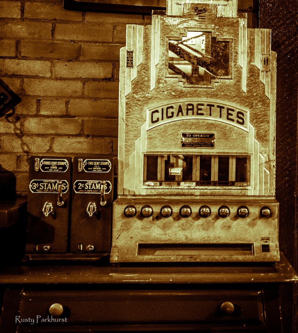 Stamps & Cigarettes, El Rancho Hotel