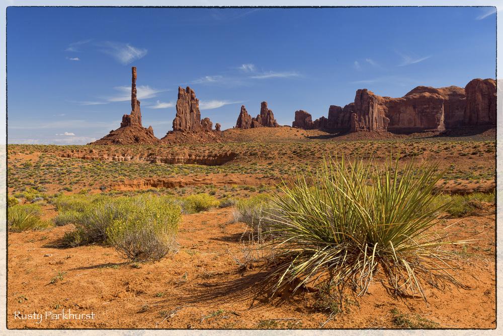 Totem Pole Landscape