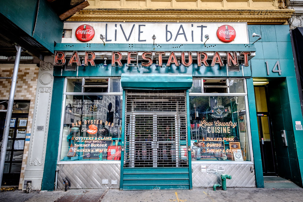 Live Bait (among other things)