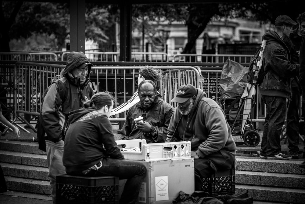 Chess in Union Square