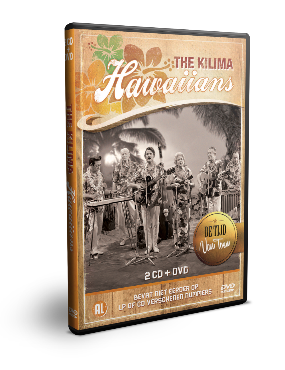 Kilima Hawaiians DVD