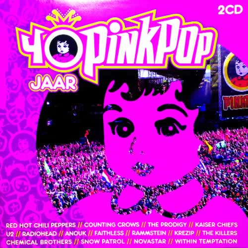 cd 40 jaar pinkpop Mastering Porfolio 2009 — Quiet Storm Music | QS Sound Lab cd 40 jaar pinkpop