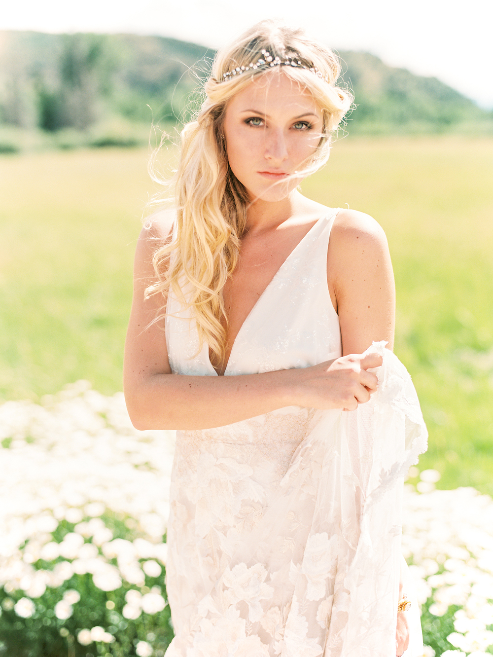 Brush Creek Ranch boho wedding look, Claire Pettibone dress, Lisa O'Dwyer Photography-6.jpg