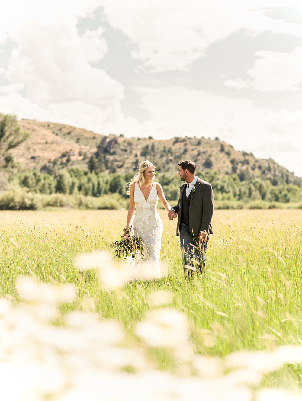 Brush Creek Ranch boho wedding look, Claire Pettibone dress, Lisa O'Dwyer Photography-3.jpg
