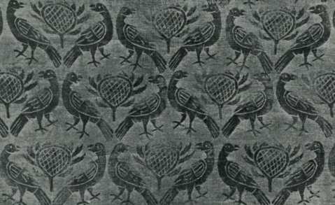Syrian print from the 13th or 14th Century