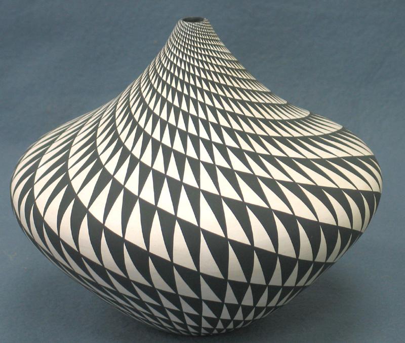 Acoma seed pottery by Dorothy Torivio (Acoma Pueblo)