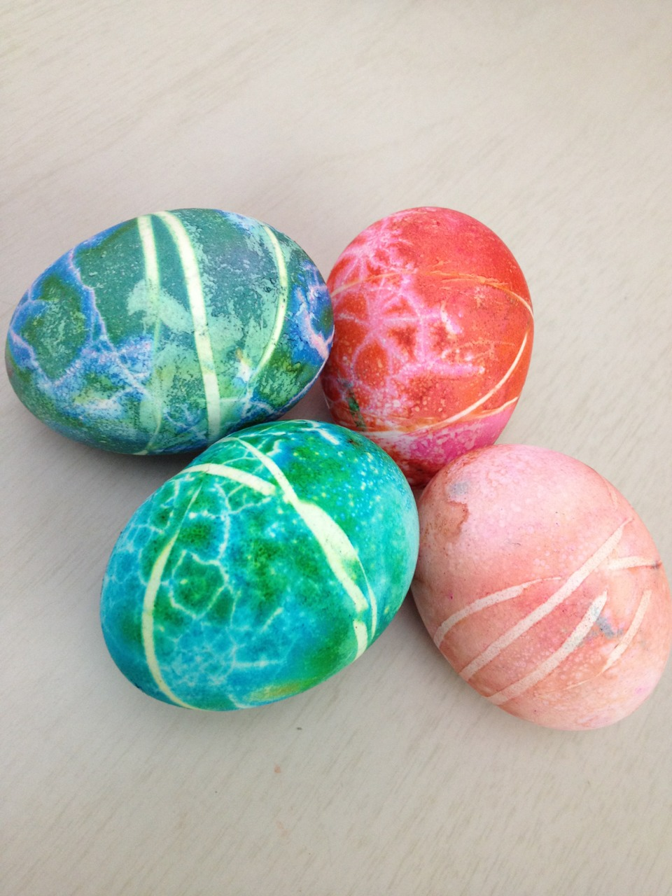 "Starburst Eggs.   "".. and in time and in time we will all be stars. ""    How we celebrate Easter."