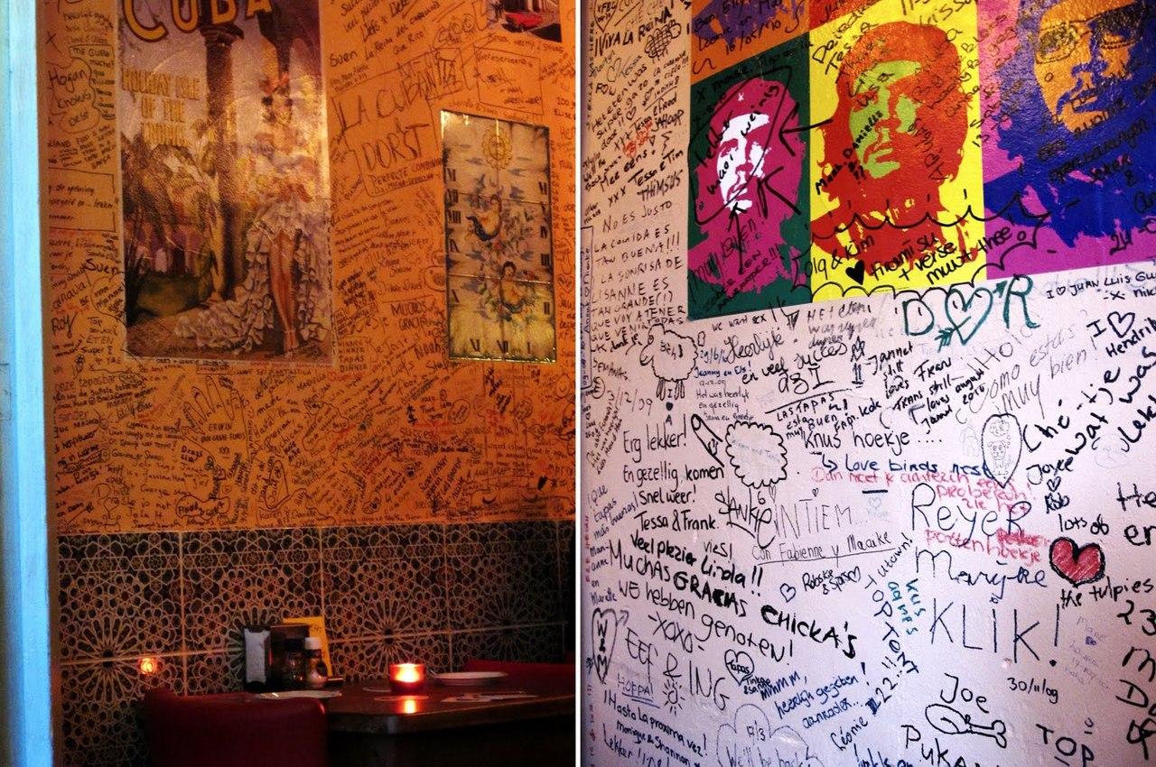 I want to do a paper like this. La Cubanita iTapas y Mas Oudkerkhof 44, Utrecht