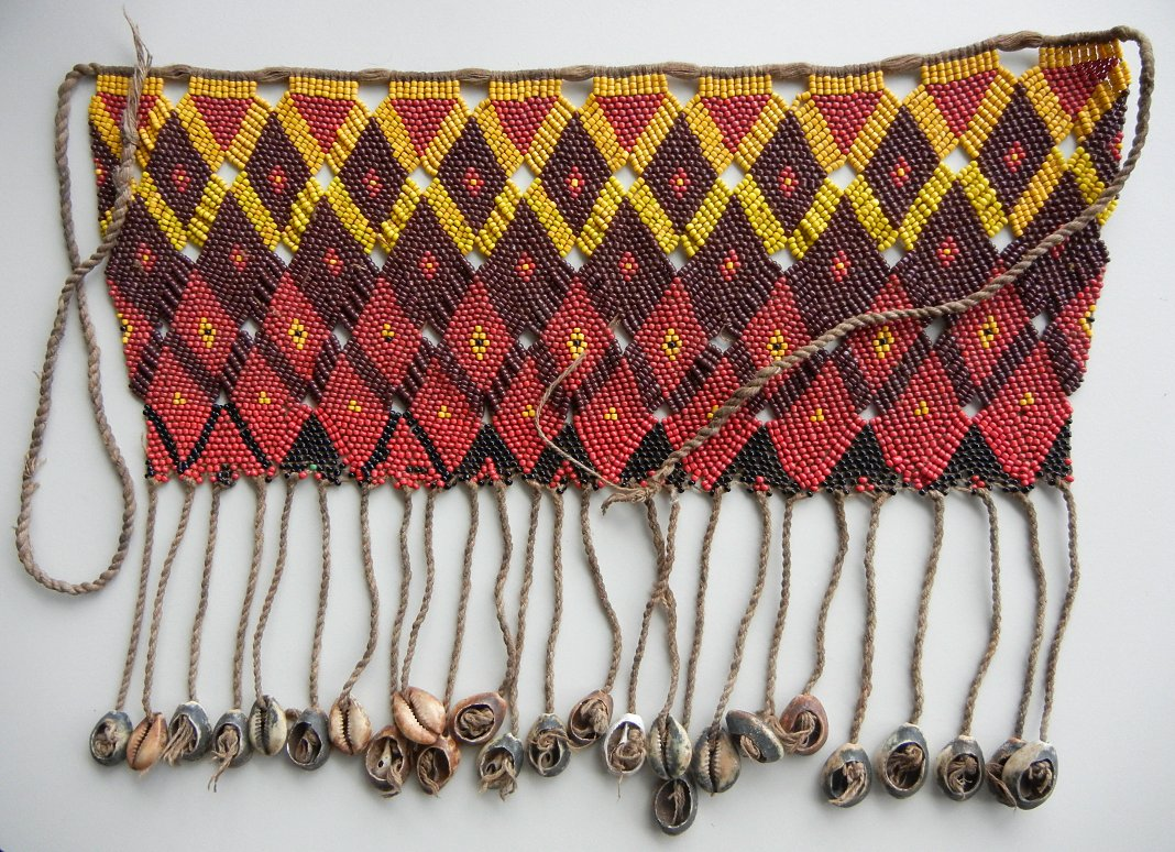 + Vintage  Kirdi  Apron, Cameroon.           Source :  Old Beads