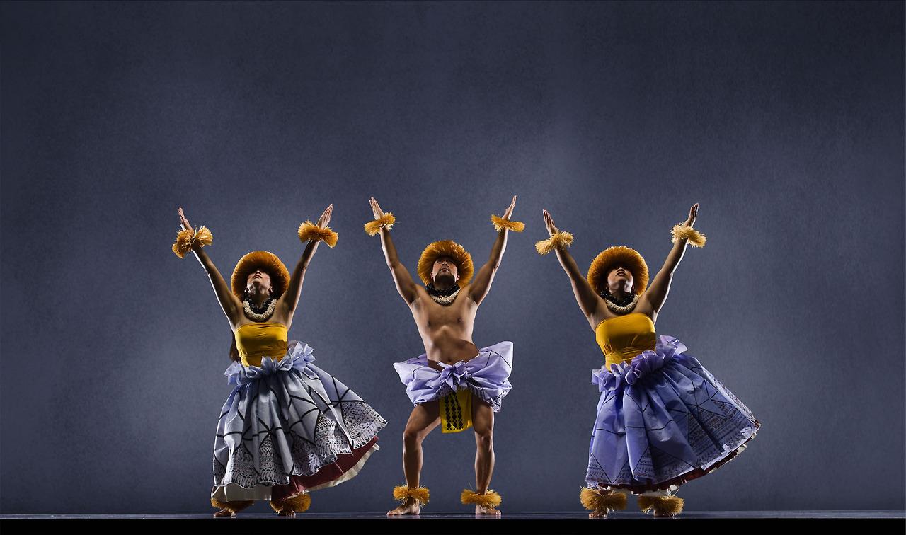 Members of Hula Halau O Keikiali'i ( S.San Francisco, CA. ) @ the San Francisco Ethnic Dance Festival. ~thealkhemist