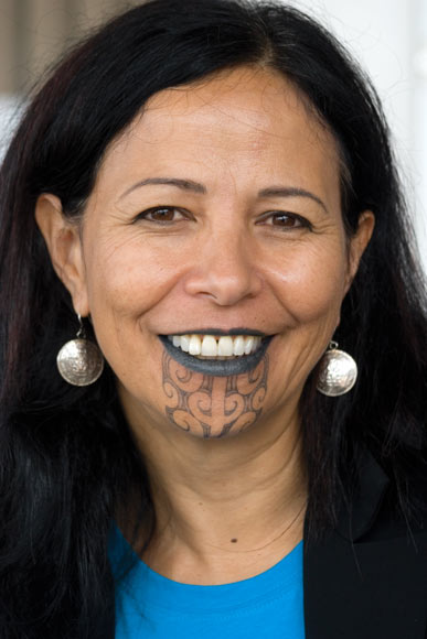 Traditionally women who acquired moko kauae (female chin tattoos) received them on the basis of their mana, established through their whakapapa. They were nominated by the hapū to ensure there was a woman of mana to represent them on the marae. having a moko is not just a gang or thug mark of identity…..  ~a
