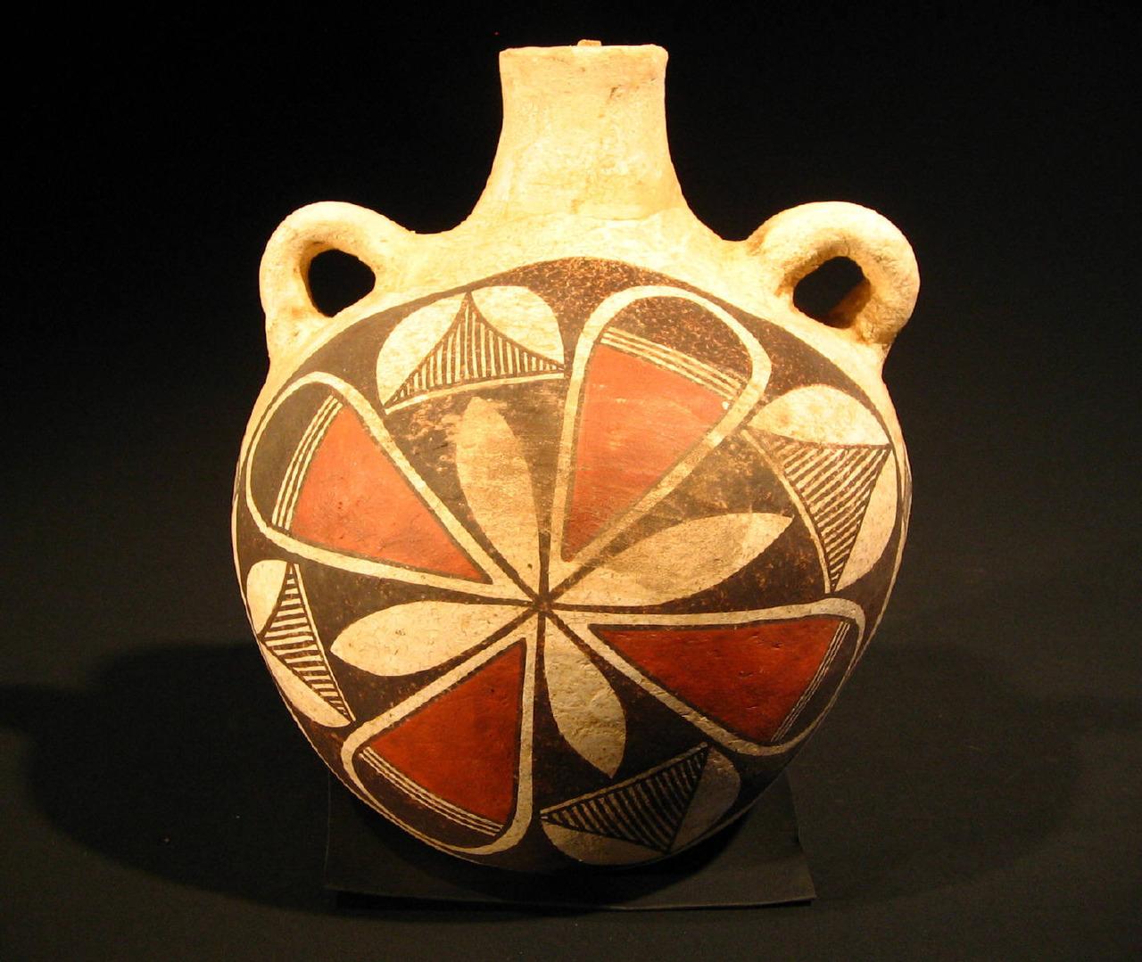 Acoma Pueblo Pottery,1920, artist unknown