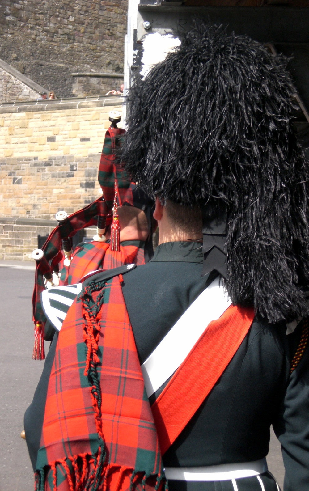 @ Edinburgh Castle. Royal Tattoo.
