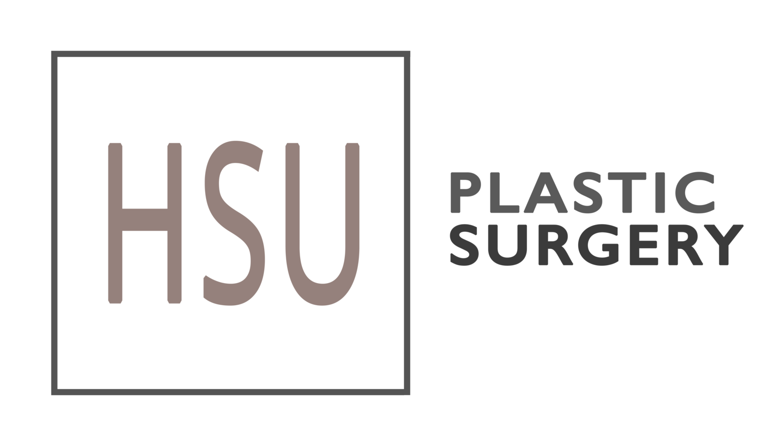HSU PLASTIC SURGERY