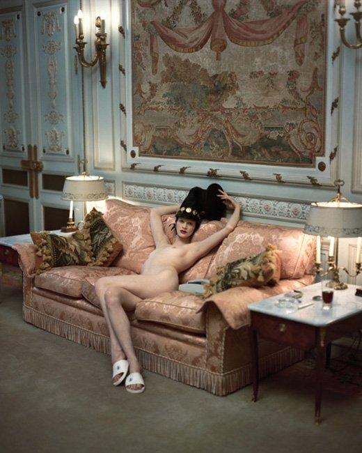 Kristen McMenamy. 1993. Steven Meisel.