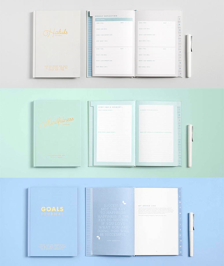 I undertook extensive research and wrote the series of kikki.K Inspiration Journals giving people the tools to help them create a life they love.Photo by kikki.K.