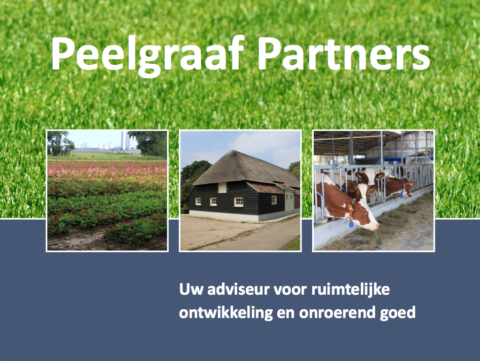 Ontwerp Folder, Peelgraaf Partners