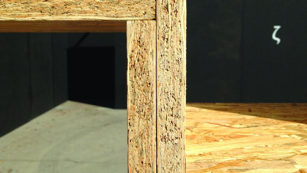 South threshold. Detail.
