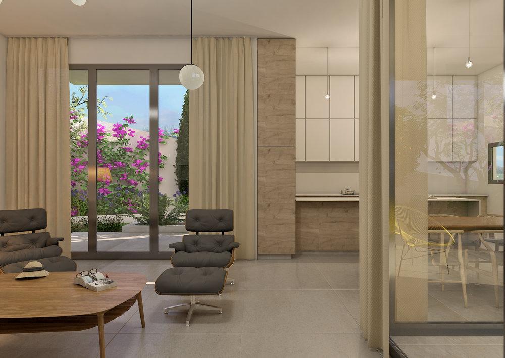 A: Ground floor. Lounge to kitchen.