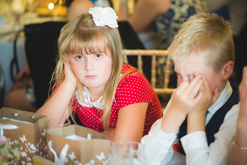 funny pictures of kids at wedding during wedding speeches