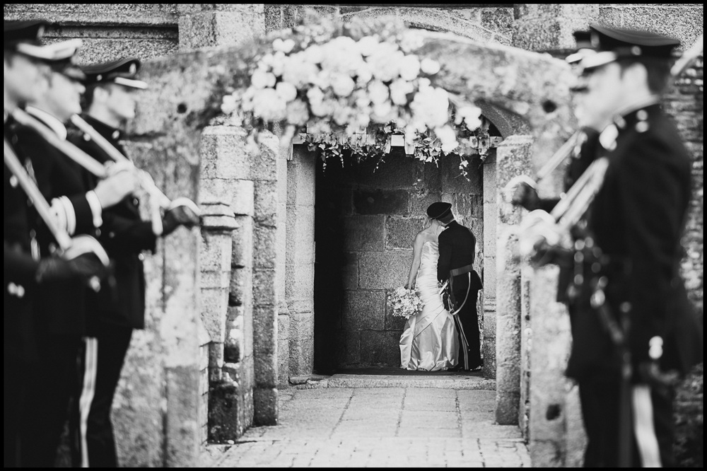 Castle Wedding in Cornwall Photography