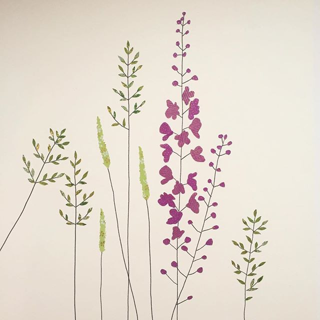 New Wild Flowers and Grass Work