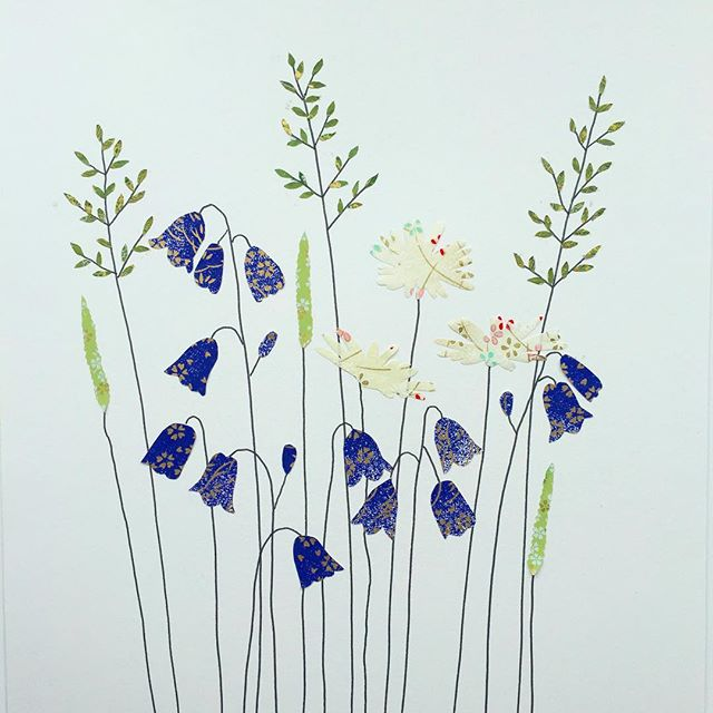 New Daisy and Harebells work. #daisy #daisies #harebell #new #somerset  #papergoods #stationeryaddict #calledtobecreative #capturingcolour #persuepretty #becreative #illustrationartist #makersgonnamake #madeinengland #thatsdarling #nature #natureinspired #botanical