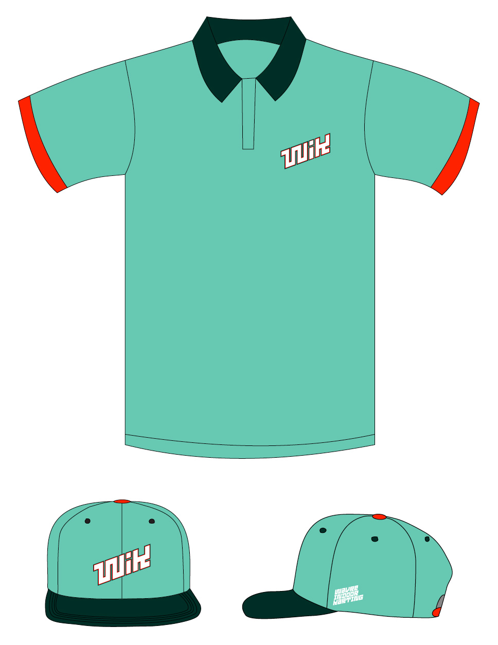 Club-sandwich-WIK-racing-polo-hat