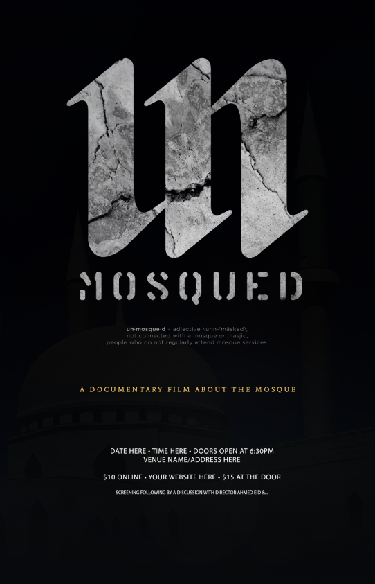 The official UnMosqued Film Poster 2