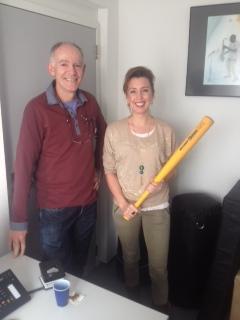 Cees Boerhout en Isabelle in Groningen