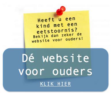 website voor ouders met kinderen met een eetstoornis - www.mijnkindheefteeneetstoornis.nl