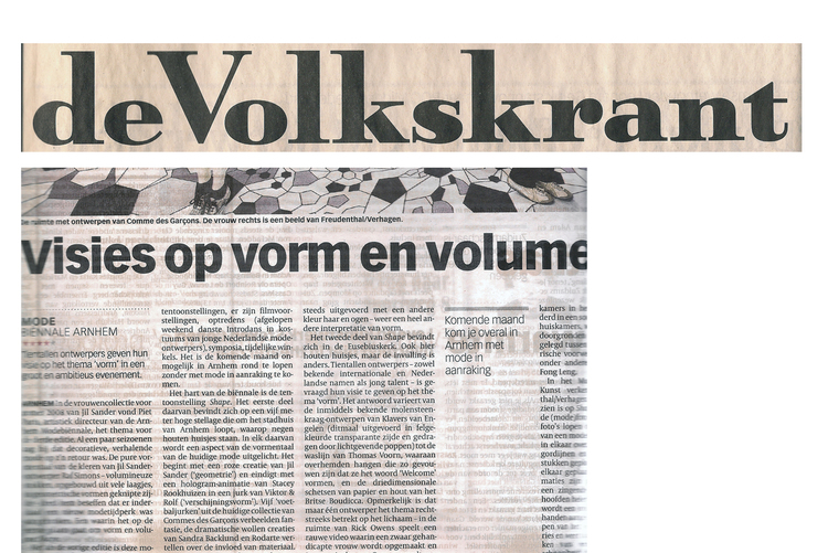 Press+Volkskrant+newspaper+on+Thomas+Voorn.jpg