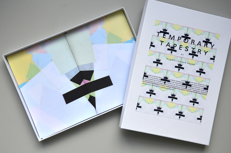 Graphic Design Muur : Temporary tapestry no. 01 u2014 studio thomas voorn