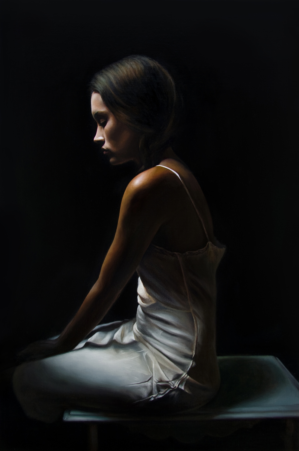 "Illuminated   36"" x 24""    Oil on Linen   SOLD"