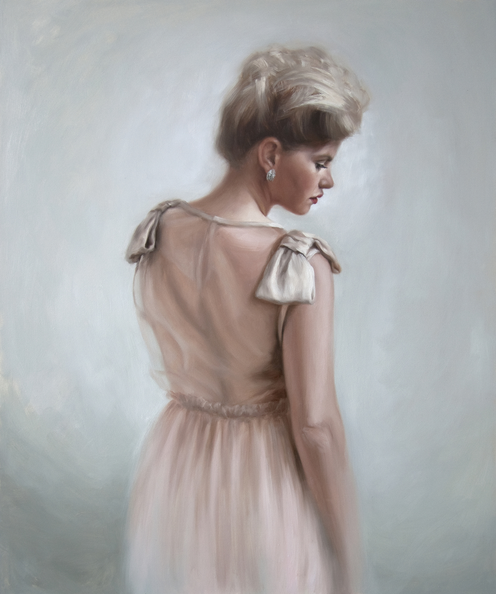 "Sheer Elegance   24"" x 20""   Oil on Panel    AVAILABLE - contact the artist"