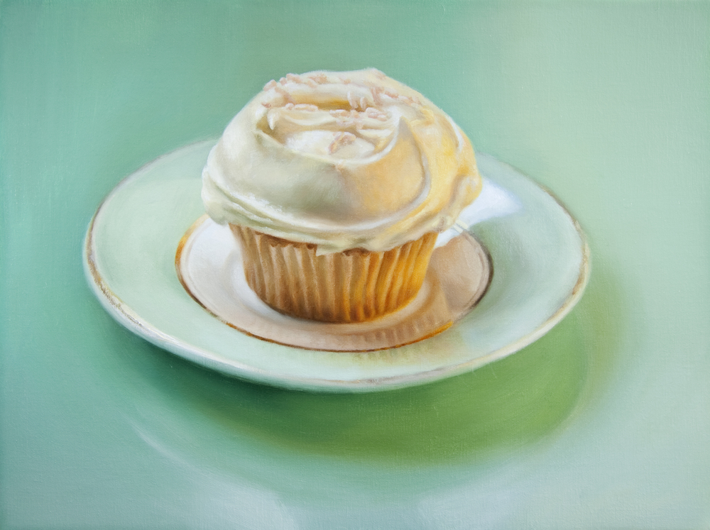 "Temptation   12"" x 16""  Oil on Linen  SOLD   { dyptich 1 of 2 }"