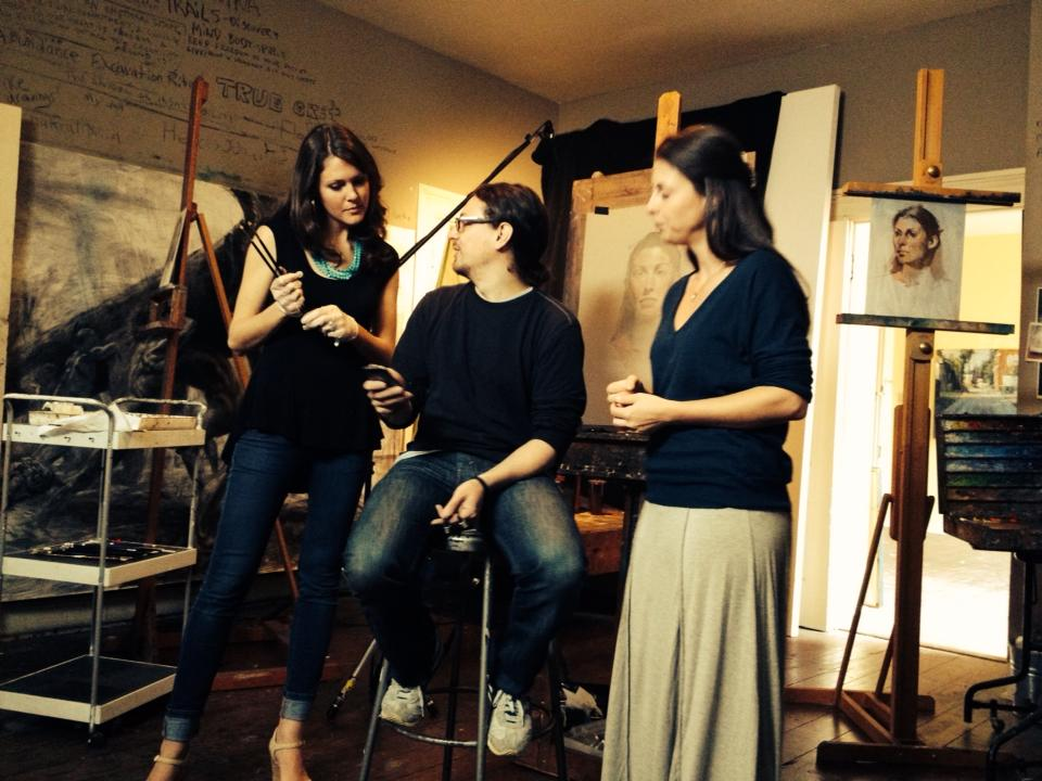 Photo Credit: Jeff Markowsky.  From left to right: Amy Lind, David Kassan, Clare Ward