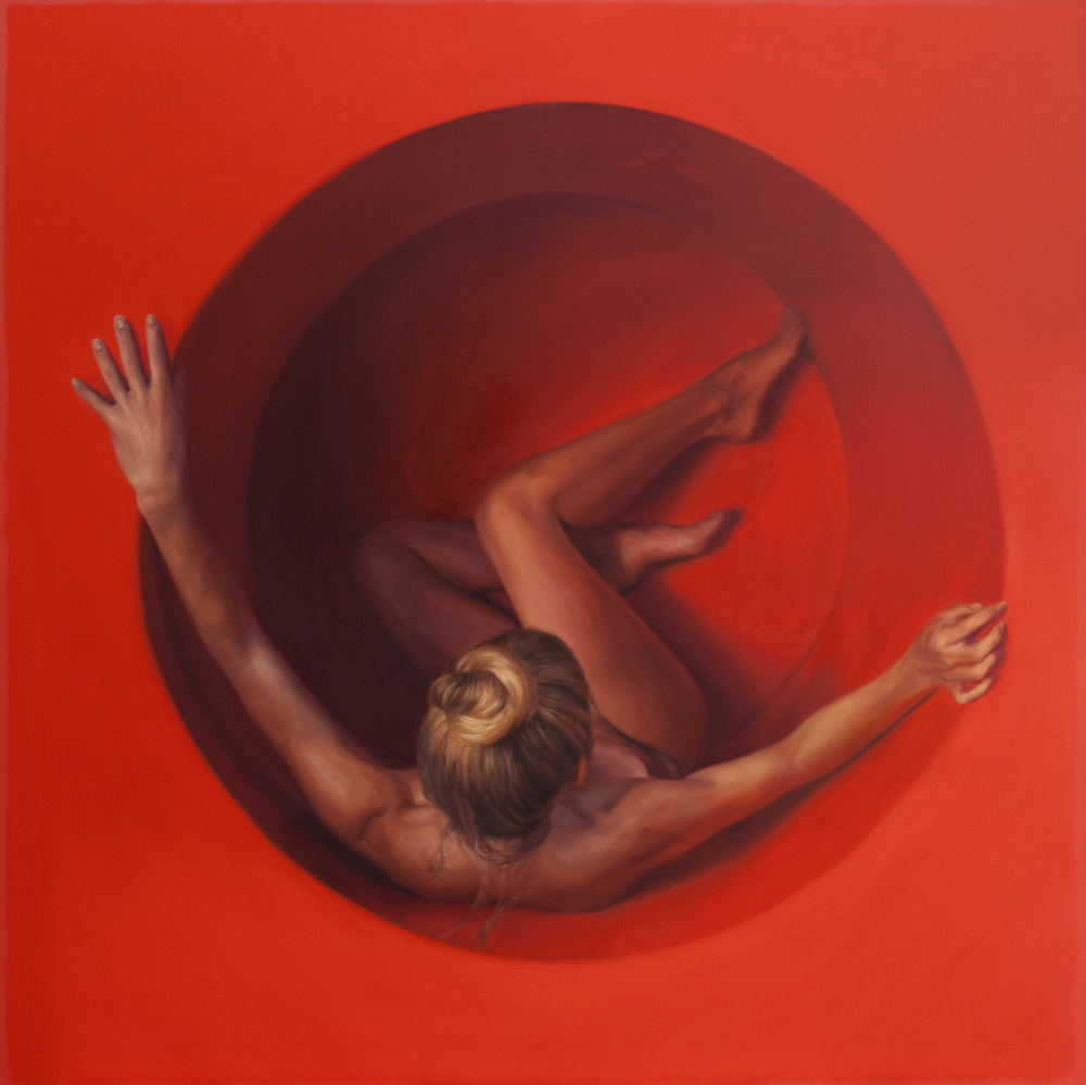 "30"" x 30""  Oil on panel    AVAILABLE through Robert Lange Studios"
