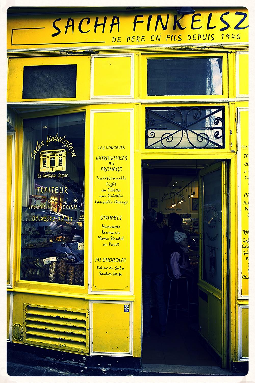 Finkelsztajn 27 Rue des Rosiers, 75004Paris Marais (seit 1946)