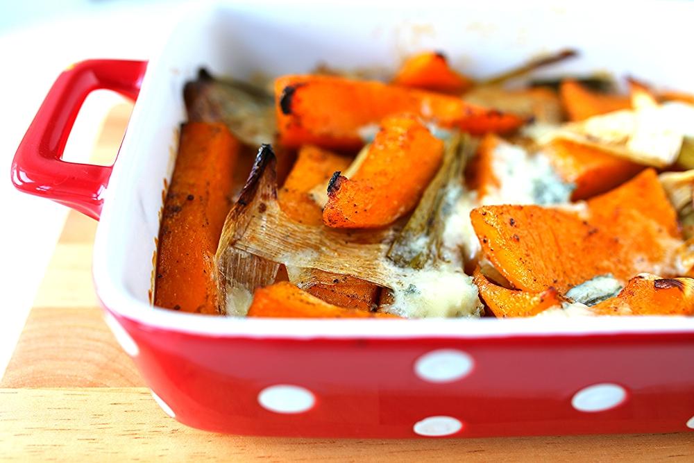 pumpkin_gorgonzola_oven_baked_kürbis_gorgonzola_ofengemüse